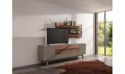 GWINNER TV-Wand »Misano MI109«, (2 St.), in Lack fango, mit Wandpaneel, wahlweise mit... kaufen