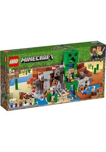 LEGO® Konstruktionsspielsteine »Die Creeper™ Mine (21155), LEGO® Minecraft™«, (834... kaufen
