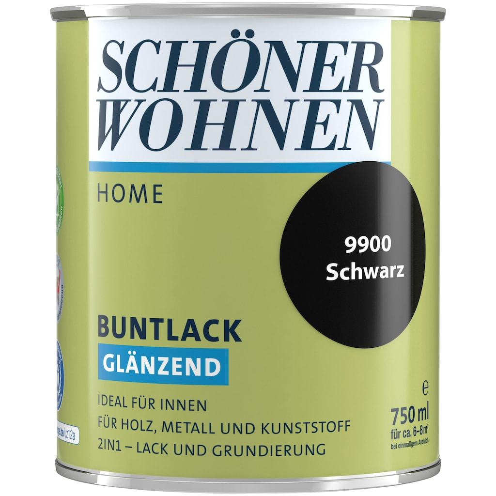 SCHÖNER WOHNEN-Kollektion Lack »Home Buntlack«, glänzend, 750 ml, schwarz