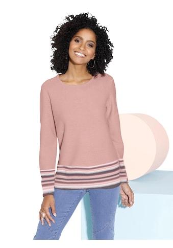 Classic Basics Pullover in Linksstrick - Optik kaufen