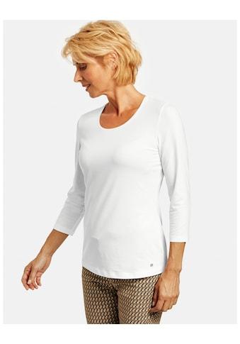 GERRY WEBER 3/4 - Arm - Shirt »3/4 Arm Shirt aus Jersey« kaufen