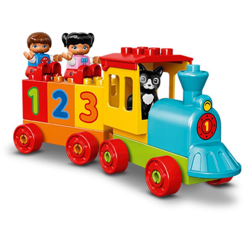 LEGO® Konstruktionsspielsteine »Zahlenzug (10847), LEGO® DUPLO®«, (23 St.), Made in Europe
