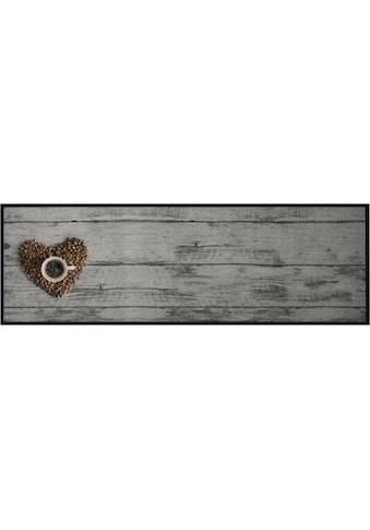 Küchenläufer, »Coffee Bean«, Zala Living, rechteckig, Höhe 5 mm, maschinell getuftet kaufen