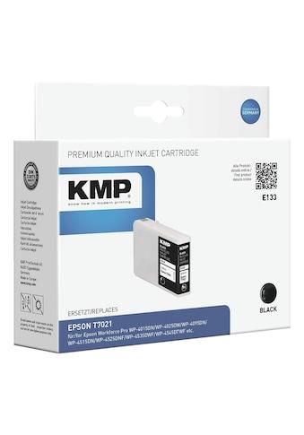 KMP Tintenpatrone ersetzt Epson schwarz kaufen