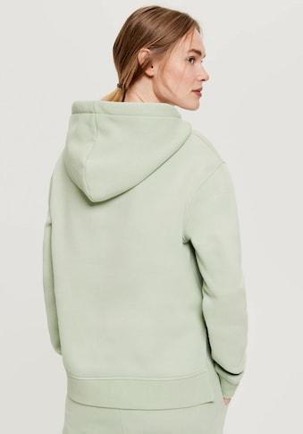 OPUS Kapuzensweatshirt »Gadira«, mit großen Seitenschlitzen kaufen