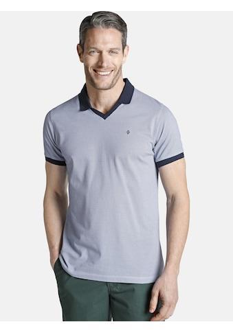 Charles Colby Poloshirt »HOLDEGER«, Polokragen mit V-Ausschnitt kaufen