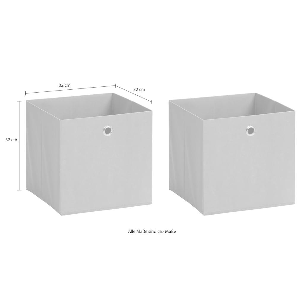 Schildmeyer Faltbox »Box«, 2er-Set mit Vliesüberzug