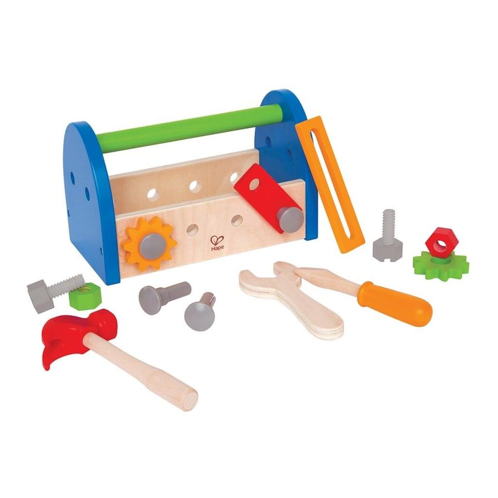 Hape Spielwerkzeugkoffer, (17 tlg.), aus Holz