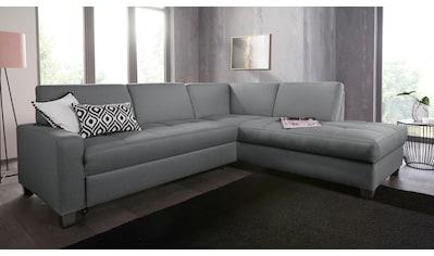 DOMO collection Ecksofa »Florentina«, wahlweise mit Bettfunktion kaufen