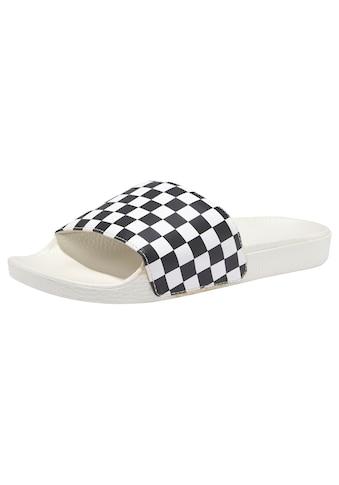 Vans Badepantolette »WM Slide - On Checkerboard« kaufen