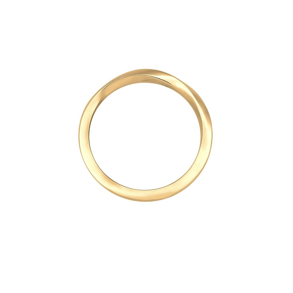 Elli Fingerring »Gedreht Trend Basic 925er Silber«