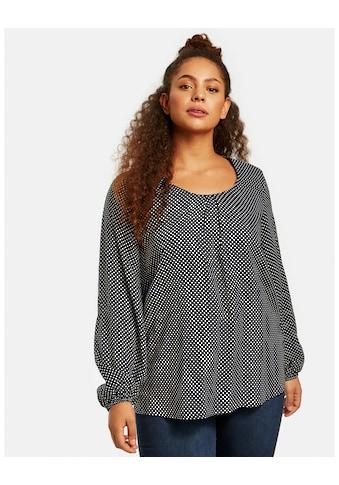 Samoon Langarmbluse »Bluse mit Tupfen - Print« kaufen