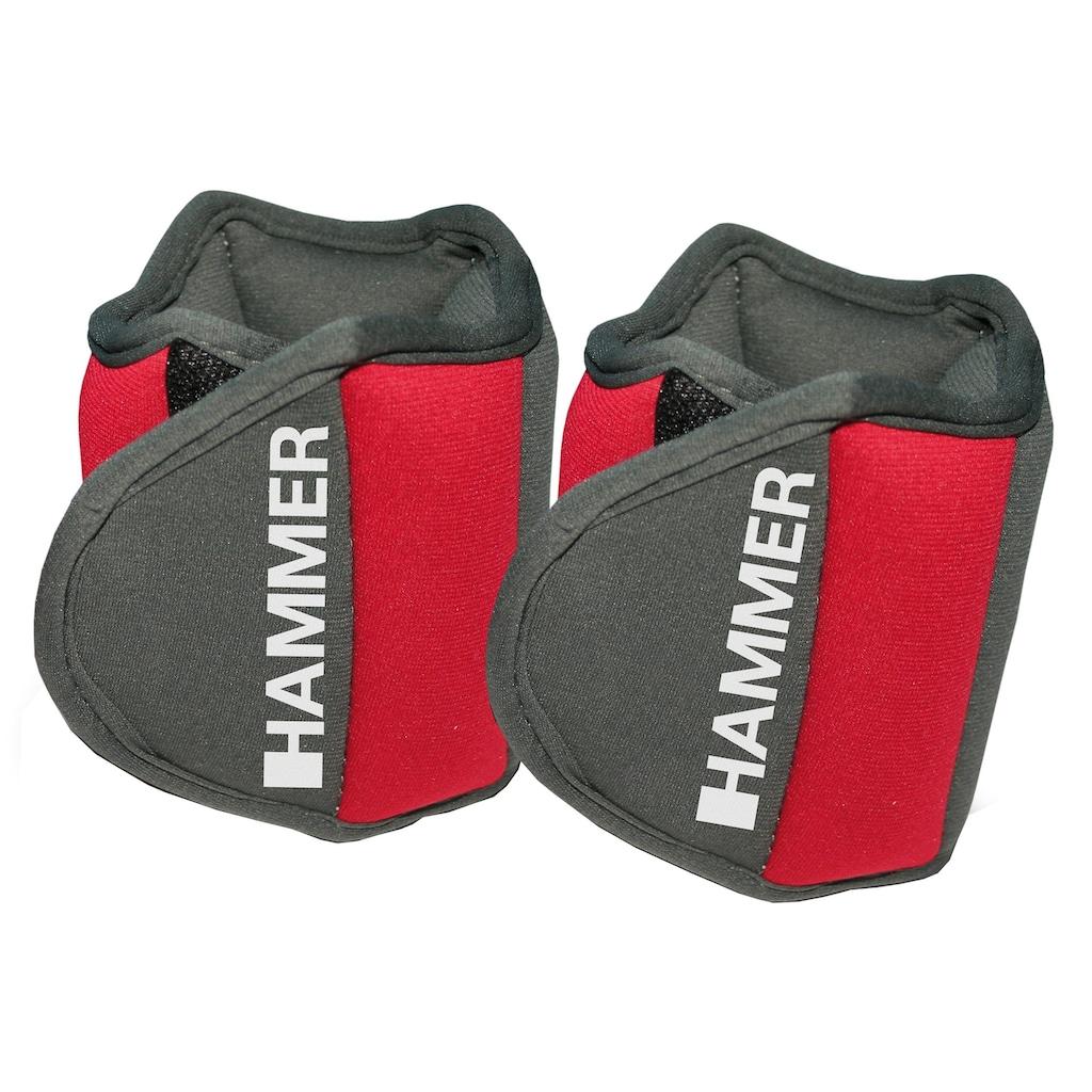 Hammer Gewichtsmanschette »Hammer Set: Gewichtsmanschetten«, 1 kg, (Set, 2 tlg.)