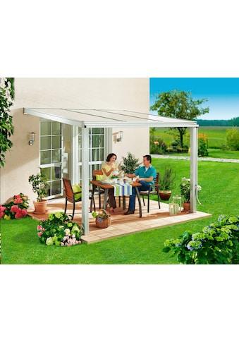 Beckmann Terrassendach »Exklusiv 4«, BxT: 307x322 cm, mit Regenrinne kaufen