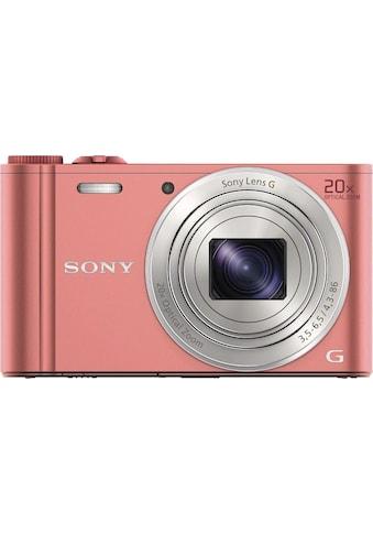 Sony »Cyber - Shot DSC - WX350« Superzoom - Kamera (25mm Sony G, 18,2 MP, 20x opt. Zoom, WLAN (Wi - Fi)) kaufen