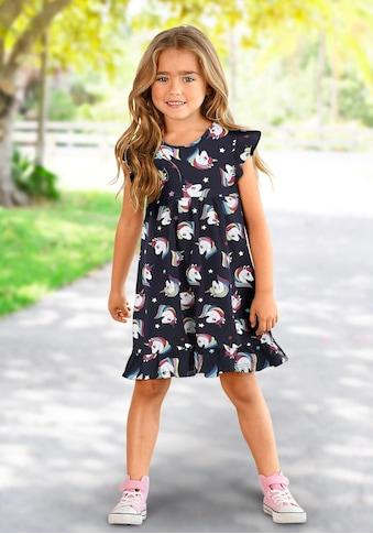 KIDSWORLD Jerseykleid, mit Einhornmuster kaufen