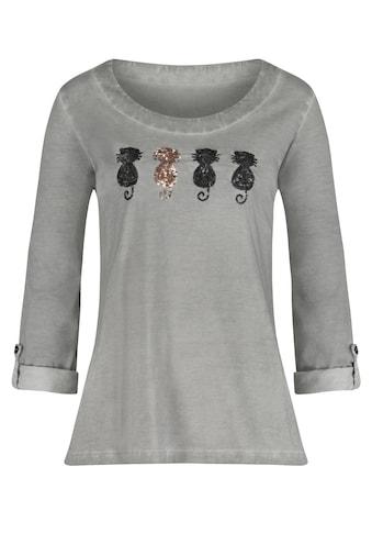 Ambria Shirt mit Pailetten - Katzen kaufen