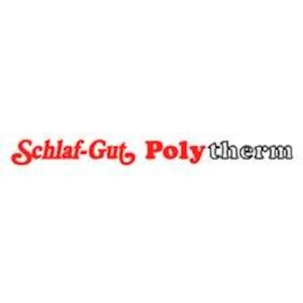 f.a.n. Frankenstolz Microfaserkissen »Schlaf-Gut Utah«, Füllung: Polster glatt mit Schlaf-Gut-Polytherm-Füllung, Bezug: Bezug: 50% Baumwolle, 50% Polyester, (1 St.)