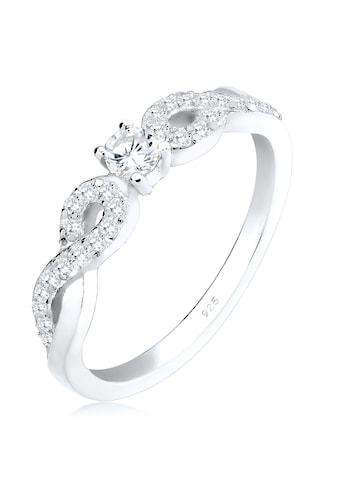 Elli Fingerring »Infinity Zirkonia 925 Sterling Silber« kaufen