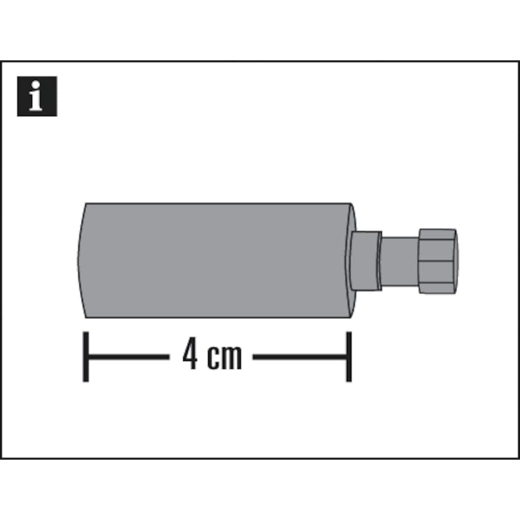 GARDINIA Gardinenstangenhalter »Trägerverlängerung«, (1 St.), Einzelprogramm Chicago 20 mm