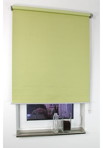 Seitenzugrollo »Struktur«, Liedeco, verdunkelnd, ohne Bohren kaufen