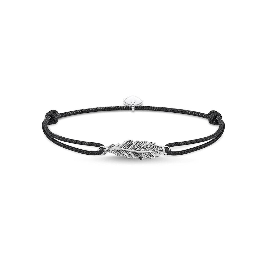 THOMAS SABO Armband »Little Secret Feder, LS063-889-11-L22v«, mit Zirkonia