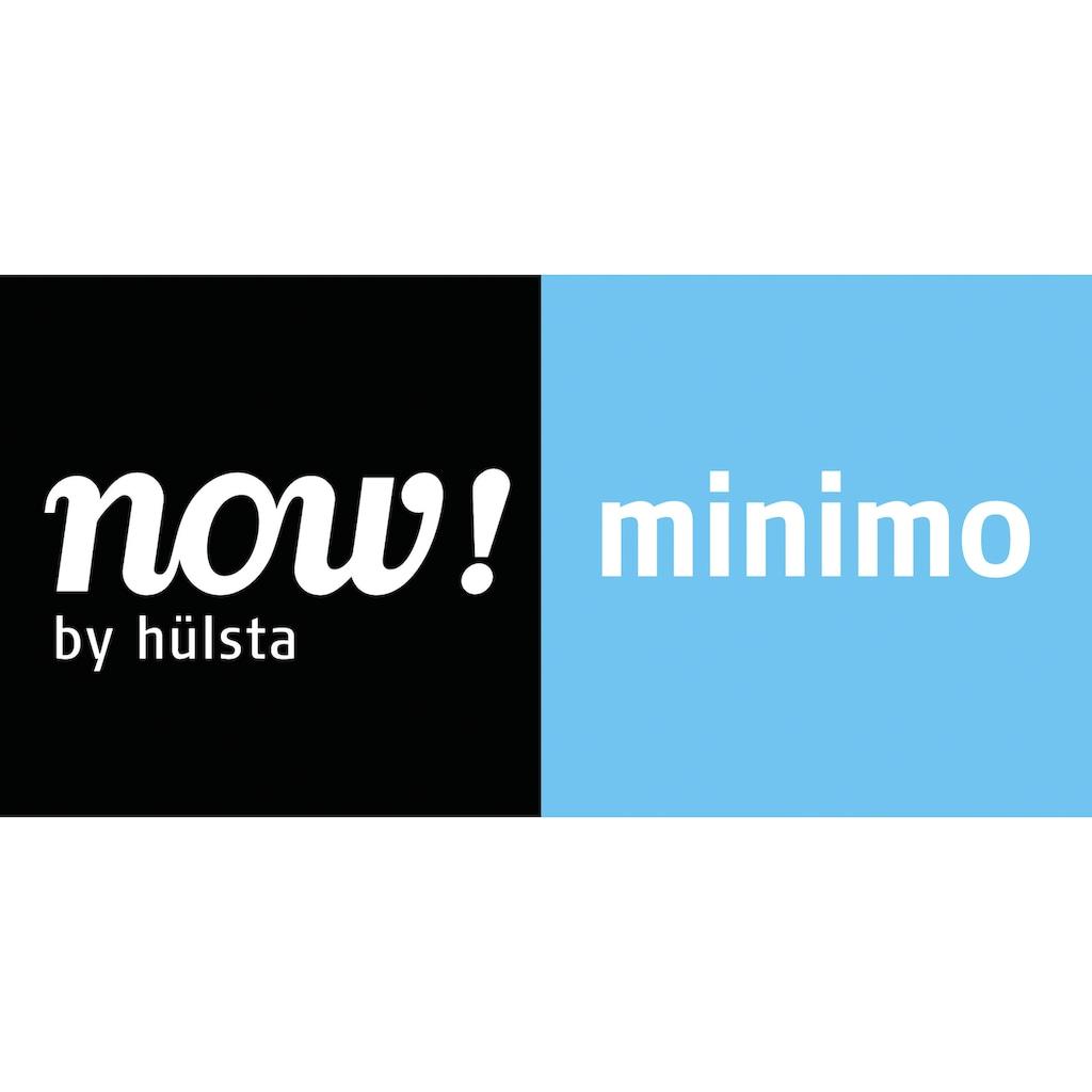 now! by hülsta Kommode »now! minimo«, mit roten Griffen