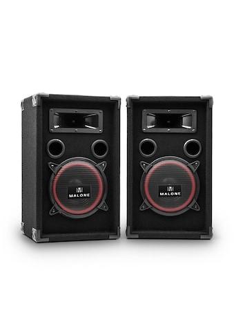 Malone Passive DJ PA Lautsprecher Boxen Paar Subwoofer 2x200W RMS »JO PA 220 P Pair« kaufen