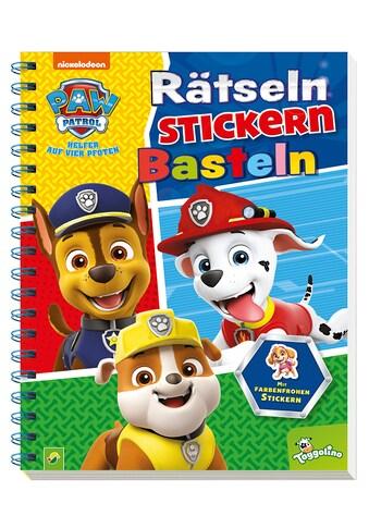 Buch »Paw Patrol Rätseln, Stickern, Basteln / DIVERSE« kaufen
