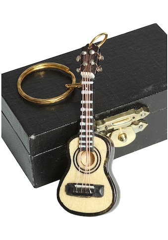 Ambiente Haus Dekofigur »Schlüsselanhänger Gitarre hell 7cm« kaufen