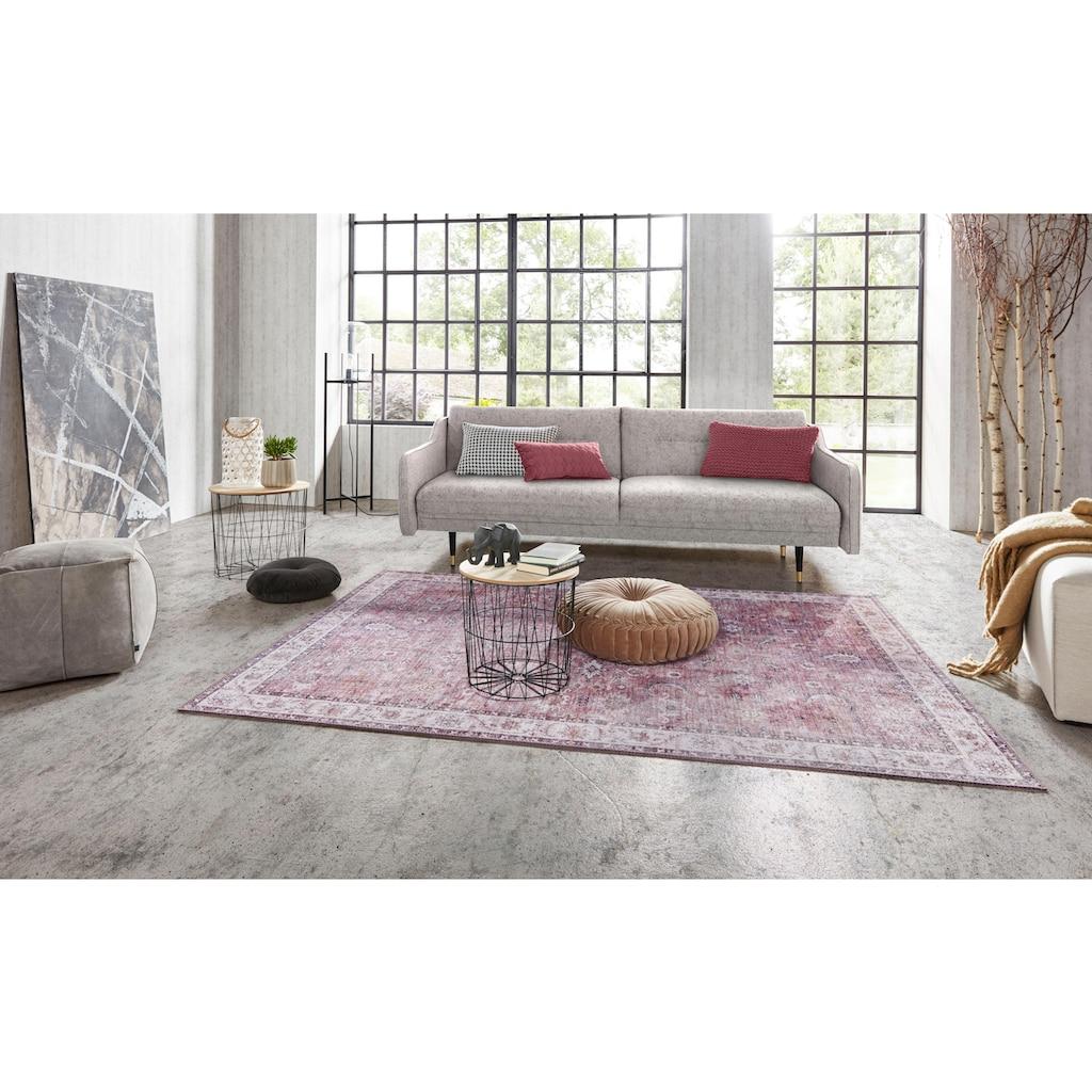 NOURISTAN Teppich »Vivana«, rechteckig, 5 mm Höhe, Vintage Design, Orient-Optik, Wohnzimmer