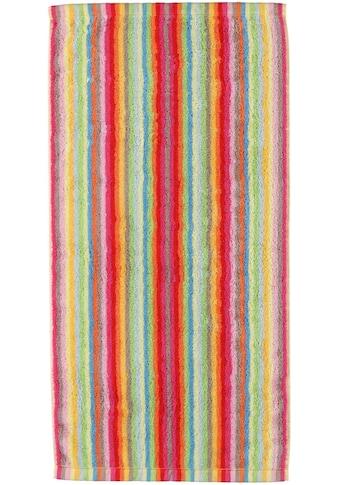 Cawö Saunatuch »Lifestyle Streifen«, (1 St.), mit farbenfrohen Streifen kaufen