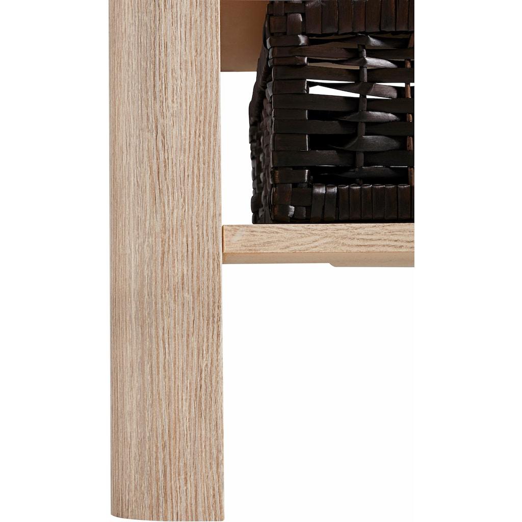 PRO Line Couchtisch, rechteckig mit 2 Ablagekörben