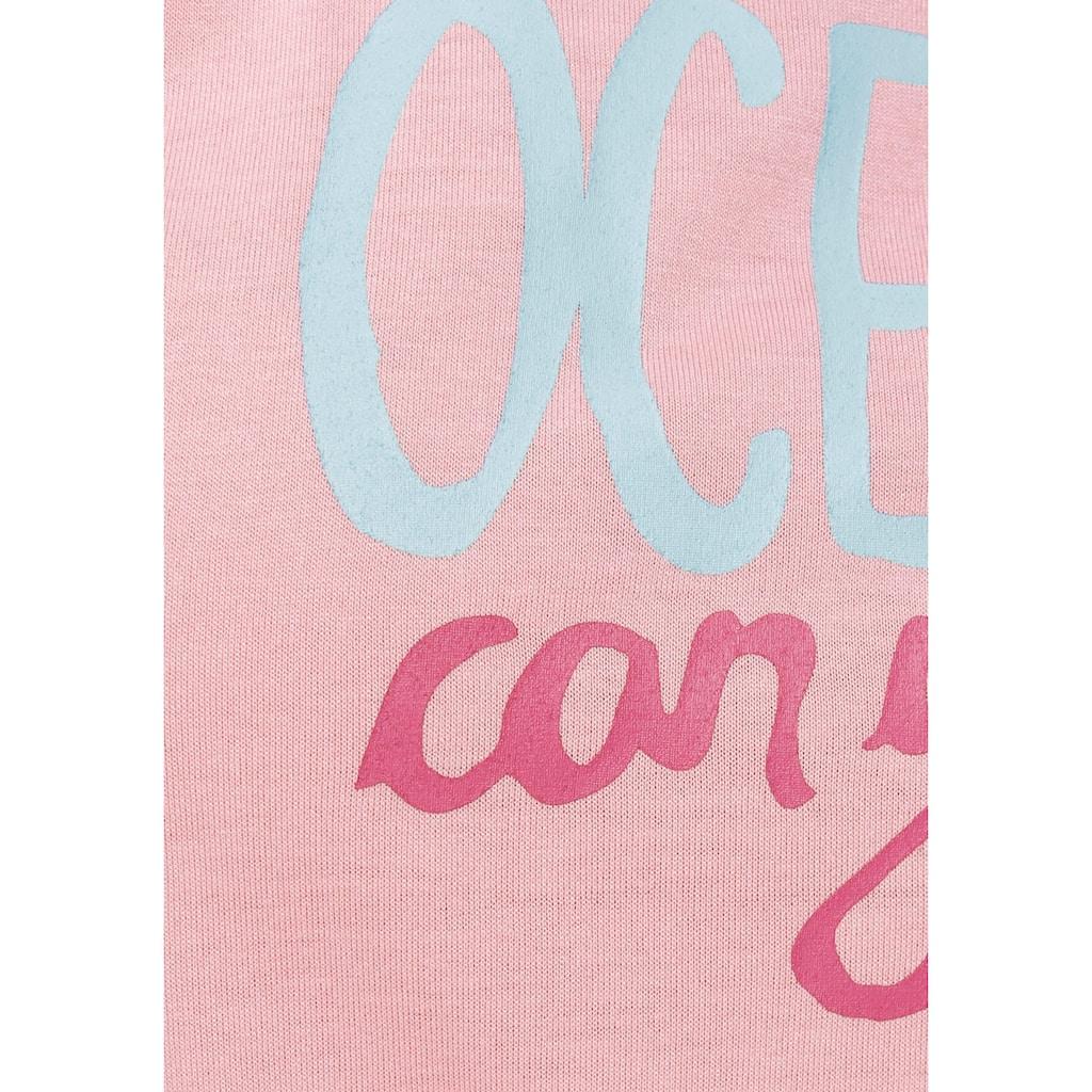 Ocean Sportswear T-Shirt, in Viskose-Qualität