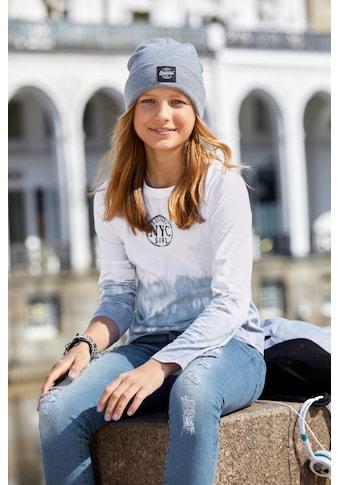 Arizona Langarmshirt, modischer Farbverlauf kaufen