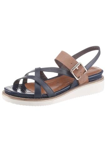 Tamaris Sandale »Eda«, mit überkreuzten Riemchen kaufen