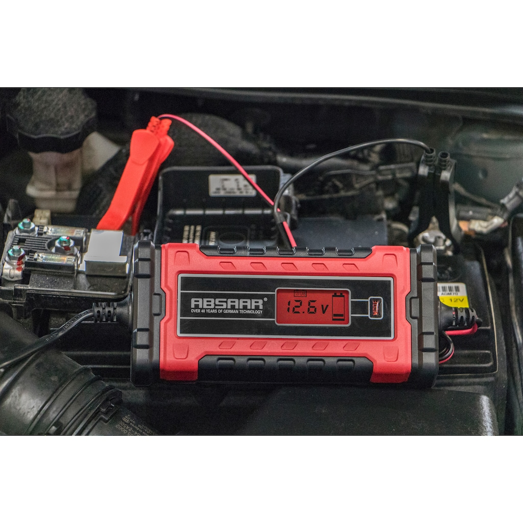 Absaar Batterie-Ladegerät »EVO 6.0«, 6000 mA, 12/24 V
