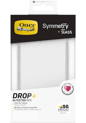 Otterbox Smartphone-Hülle »Symmetry Clear + Alpha Glass iPhone 12 Pro Max«, iPhone 12... kaufen