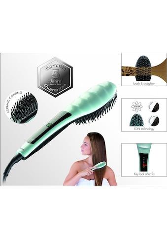 Glättbürste Straightener Brush, Ceramic Ion, Trisa kaufen
