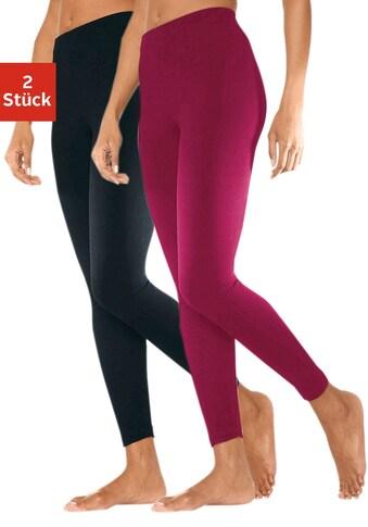 vivance active Leggings, (2er-Pack), mit Gummibund kaufen
