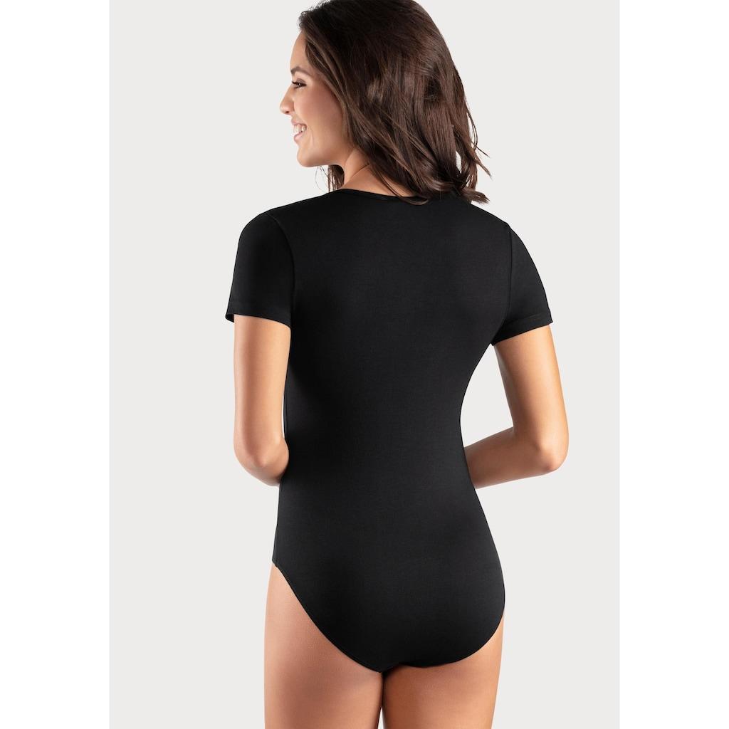 Vivance T-Shirt-Body, aus Baumwoll-Stretch-Qualität