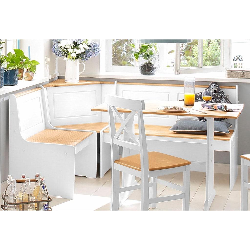 Home affaire Essgruppe »Sascha«, mit Tisch und Truhen-Eckbank