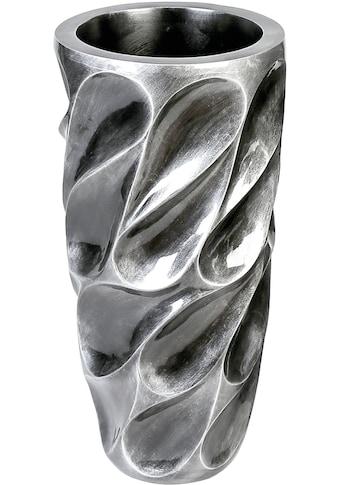 Casablanca by Gilde Pflanzkübel »Pflanzkübel Drop, antik silberfarben«, (1 St.),... kaufen