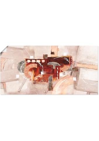 Artland Wandbild »Abstrakte Kreise« kaufen