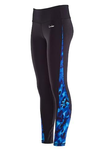 Winshape Leggings »AEL109-Blue-Rainflowers«, mit leichtem Kompressionseffekt kaufen