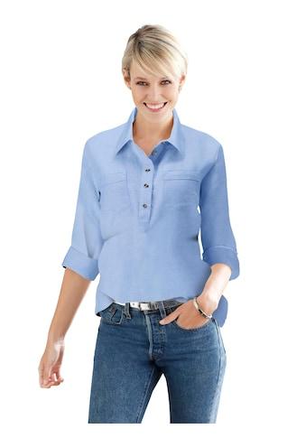 Classic Basics Flanell - Bluse in Schlupfform kaufen