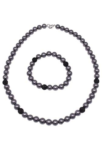 Firetti Schmuckset »Kette und Armband, schimmernd, edel, versilbert«, mit... kaufen
