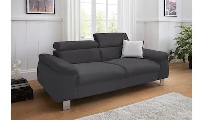 COTTA Polstergarnitur »Komaris«, (Set), Set: bestehend aus 3-Sitzer und Hocker,... kaufen