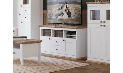 Home affaire Lowboard »Banburry«, mit 2 Holztüren, 121, 5 cm breit kaufen