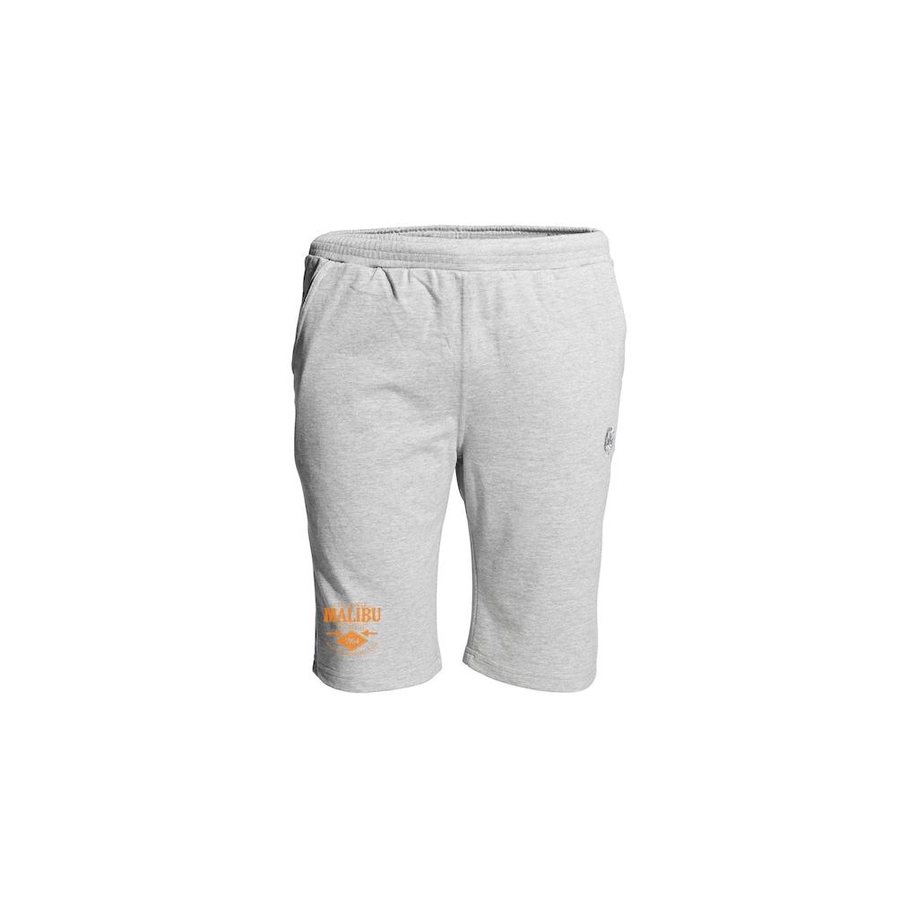 AHORN SPORTSWEAR Sweat-Shorts mit coolem Beinprint